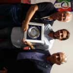 Francesco Raciti premiato dal componente CAN-D Marano e dal presidente Raciti