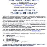Volantino Corso Arbitri