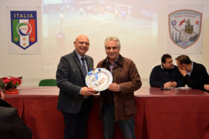 Il Presidente Raciti omaggia Ignazzitto