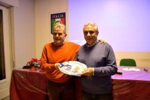 Il Presidente Raciti omaggia Postorino