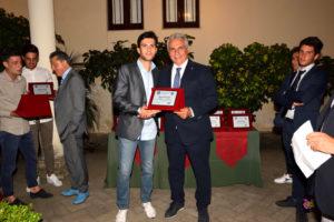 Diego Di Grazia (premia Giuseppe Raciti)